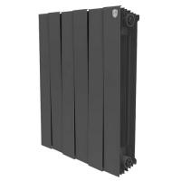 Биметаллический радиатор отопления Royal Thermo PianoForte 500 Noir Sable 4 секции