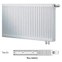 Стальной панельный радиатор отопления Buderus Logatrend VK-Profil Тип 21, высота 400 мм, ширина 400 мм