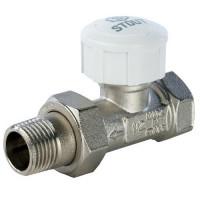 Клапан термостатический прямой STOUT 1/2″
