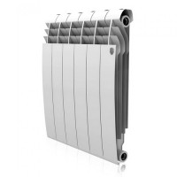 Биметаллический радиатор отопления Royal Thermo Biliner 500 Bianco Traffico 8 секций