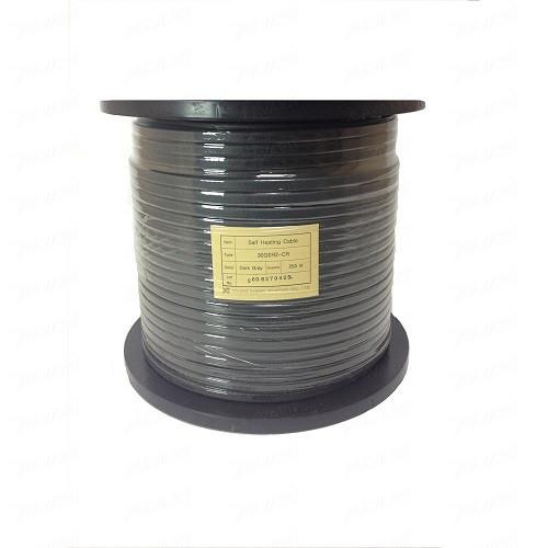 Саморегулирующийся кабель для водостоков GSR2-CR 30 Вт, с экраном, на отрез (1 пог. метр)