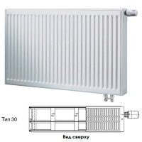 Стальной панельный радиатор отопления Buderus Logatrend VK-Profil Тип 30, высота 400 мм, ширина 800 мм