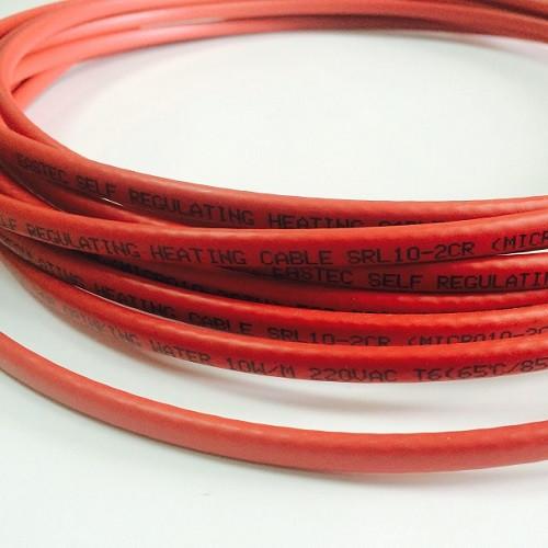 Cаморегулирующийся кабель внутрь трубы EASTEC Micro 10-CTW SRL 10-2CR М=10Вт (1 пог. метр)