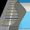 Кабель нагревательный Национальный комфорт Мастер БНК 15,0 м (1,2-1,5 м2) / 225 вт с терморегулятором