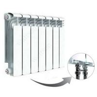 Алюминиевый радиатор отопления Rifar Alum Ventil 350 9 секций