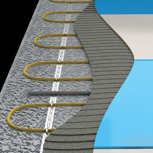 Кабель нагревательный Национальный комфорт Мастер БНК 37,5 м (2,5-3,0 м2) / 450 вт с терморегулятором