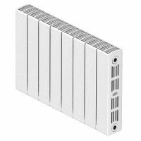 Биметаллический радиатор отопления Rifar SUPReMO 350 9 секций