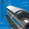Саморегулирующийся кабель для обогрева труб изнутри Freezstop Inside 10Вт 2 метра (готовый комплект)