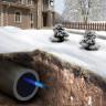 Саморегулирующийся кабель для обогрева труб изнутри Freezstop Inside 10Вт 10 метров (готовый комплект)