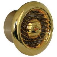 Бытовой вентилятор MMotors JSC MM 100/110 - люкс, круглый, золото 24К, light