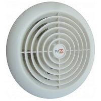 Бытовой вентилятор MMotors JSC MM 100/60, сверхтонкий, круглый, белый