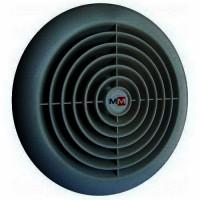 Бытовой вентилятор MMotors JSC MM 100/60, сверхтонкий, круглый, чёрный