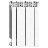 Биметаллический радиатор отопления Rifar Alp 500 6 секций