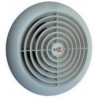 Бытовой вентилятор MMotors JSC MM 100/60, сверхтонкий, круглый, серый (серебристый)