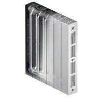 Биметаллический радиатор отопления Rifar SUPReMO 350 4 секции