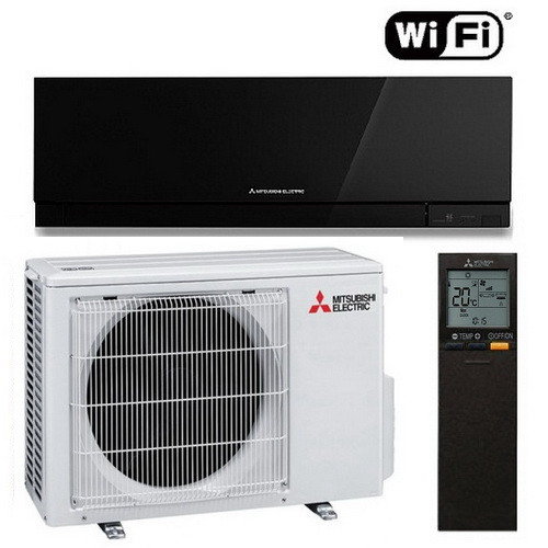Настенный кондиционер Mitsubishi Electric Design Inverter MSZ-EF42VGKB/MUZ-EF42VG (BLACK)