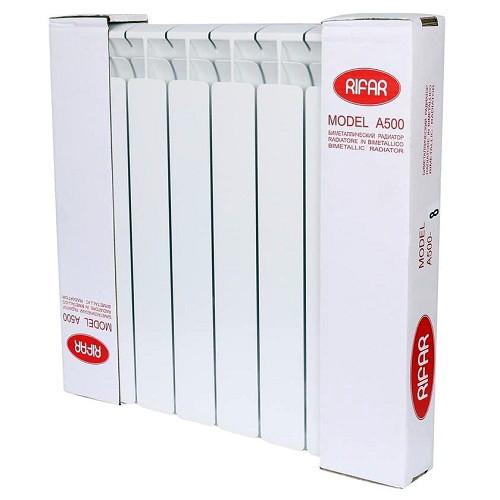 Биметаллический радиатор отопления Rifar Alp Ventil 500 7 секций