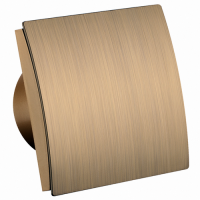 Бытовой вентилятор MMotors JSC MM-P 01 UE 100, сверхтихий, пластик гнутый, золото