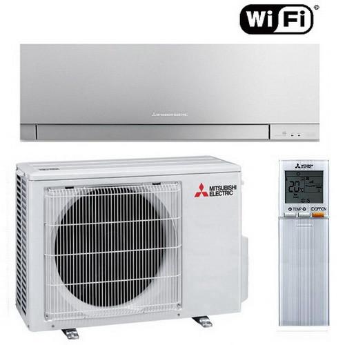 Настенный кондиционер Mitsubishi Electric Design Inverter MSZ-EF42VGKB/MUZ-EF42VG (SILVER)
