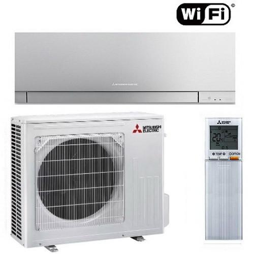 Настенный кондиционер Mitsubishi Electric Design Inverter MSZ-EF50VGKB/MUZ-EF50VG (SILVER)