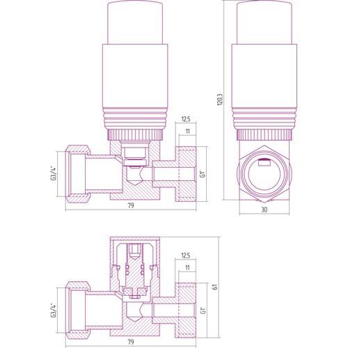 Автоматический терморегулятор прямой