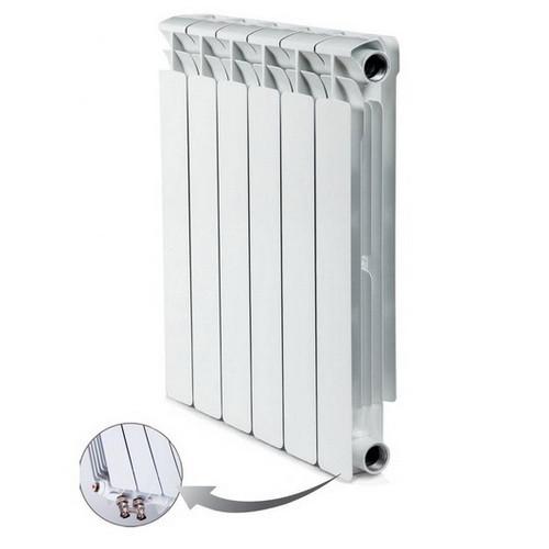 Биметаллический радиатор отопления Rifar Alp Ventil 500 13 секций
