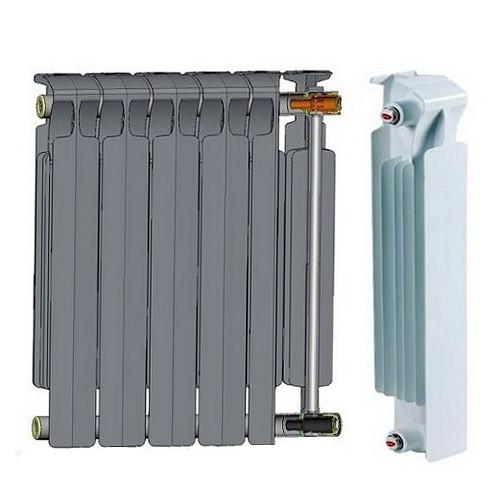 Биметаллический радиатор отопления Rifar Monolit 500 10 секций