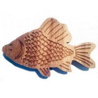 Высокотемпературный вентилятор MMotors JSC MM-S 100, решетка деревянная Рыбка