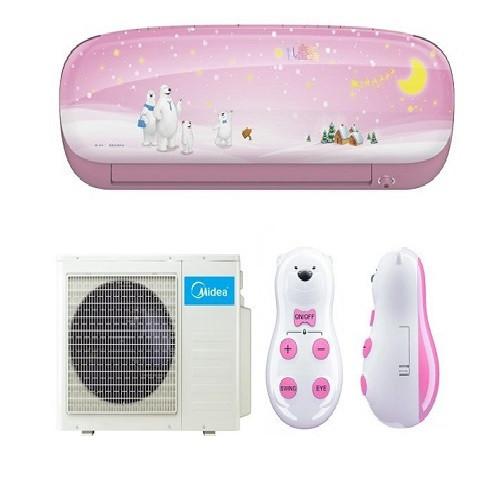 Настенный кондиционер Midea Kids Star (Pink) MSEAAU-09HRFN1(SB)/MOA01-09HFN1