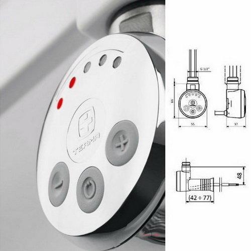 Электрический полотенцесушитель Маргроид Вид 5 Премиум 60х50