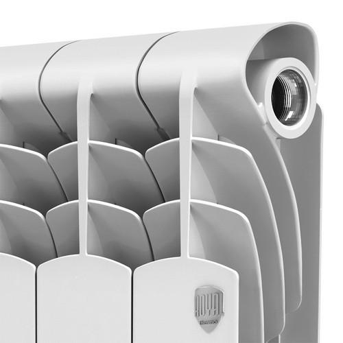Алюминиевый радиатор отоплнния Royal Thermo Revolution 350 4 секции
