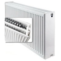 Стальной панельный радиатор отопления Buderus Logatrend K-Profil Тип 33, высота 400 мм, ширина 500 мм