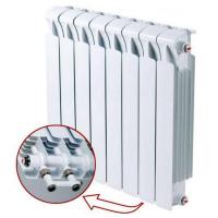 Биметаллический радиатор отопления Rifar Monolit Ventil 500 9 секций