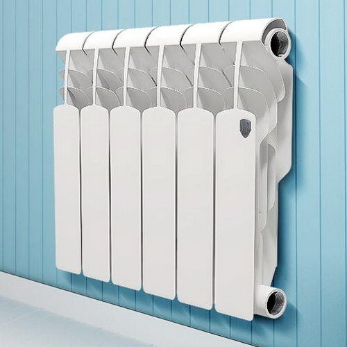 Алюминиевый радиатор отопления Royal Thermo Revolution 350 10 секций