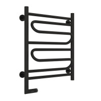 Электрический полотенцесушитель Сунержа Элегия 2.0 600x500 Черный Матовый