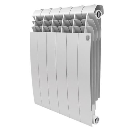 Алюминиевый радиатор отопления Royal Thermo Biliner Alum 500 Bianco Traffico 10 секций