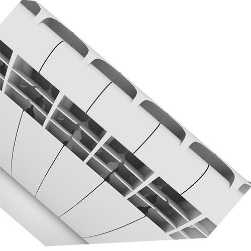 Алюминиевый радиатор отопления Royal Thermo Biliner Alum 500 Bianco Traffico 12 секций