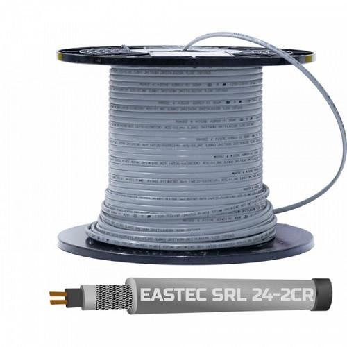Cаморегулирующийся кабель EASTEC SRL 24-2 CR М=24Вт с экраном (на отрез)