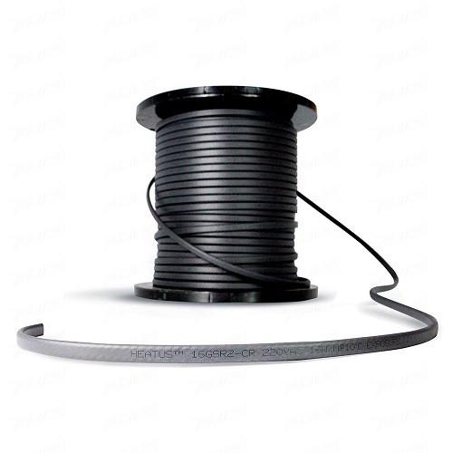 Саморегулирующийся кабель для обогрева труб Heatus GSR2-CR 16Вт с экраном (на отрез)
