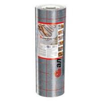 Теплоизоляция для тёплого пола Алюфом PE 5 мм с отражающим слоем (1 пог.метр)