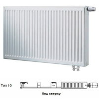 Стальной панельный радиатор отопления Buderus Logatrend VK-Profil Тип 10, высота 300 мм, ширина 500 мм