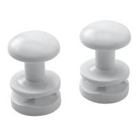 Держатель для полотенец круглый для Atlantic 2012 (2 штуки), Белый