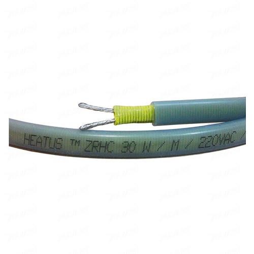 Саморегулирующийся кабель Heatus ZRHC30 30Вт/м без экрана (на отрез)