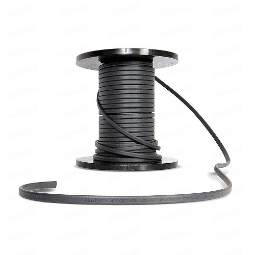 Саморегулирующийся кабель для водостоков GSR2-CR 40 Вт, с экраном, на отрез (1 пог. метр)