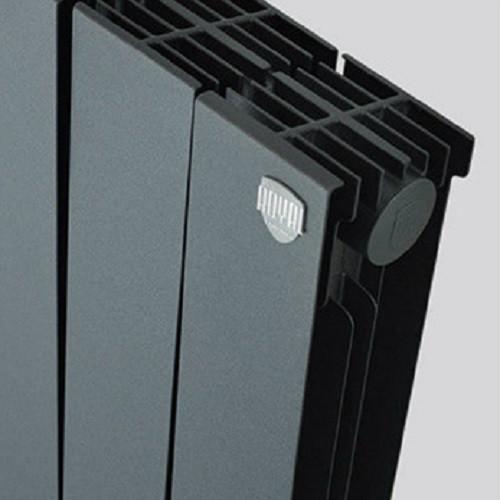 Биметаллический радиатор отопления Royal Thermo PianoForte 500 Noir Sable 12 секций