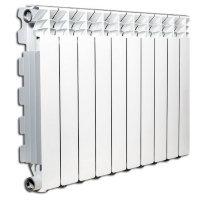 Алюминиевый радиатор отопления Fondital  Exclusivo B3 600/100 10 секций