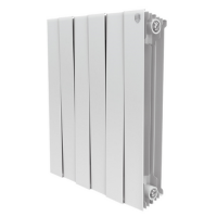Биметаллический радиатор отопления Royal Thermo PianoForte 500 Bianco Traffico 8 секций