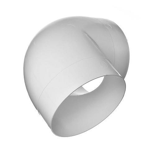 Колено 90°, для круглых воздуховодов D150