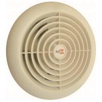 Бытовой вентилятор MMotors JSC MM 100/60, сверхтонкий, круглый, кремовый