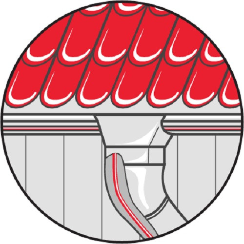 Саморегулирующийся кабель SVOHEAT 40-2CF 40Вт/м с оболочкой из фторполимера (на отрез)